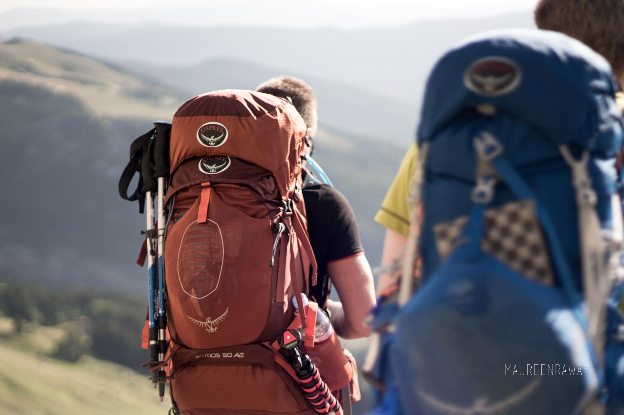 Test du sac à dos Osprey New Atmos AG 50 • Trekking et Voyage