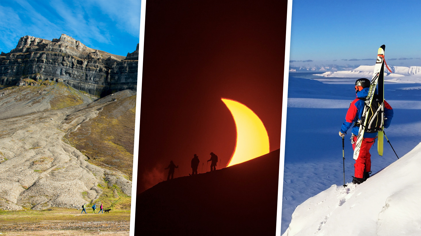 ECLIPSE au Svalbard, le rendez-vous unique du dépassement de soi