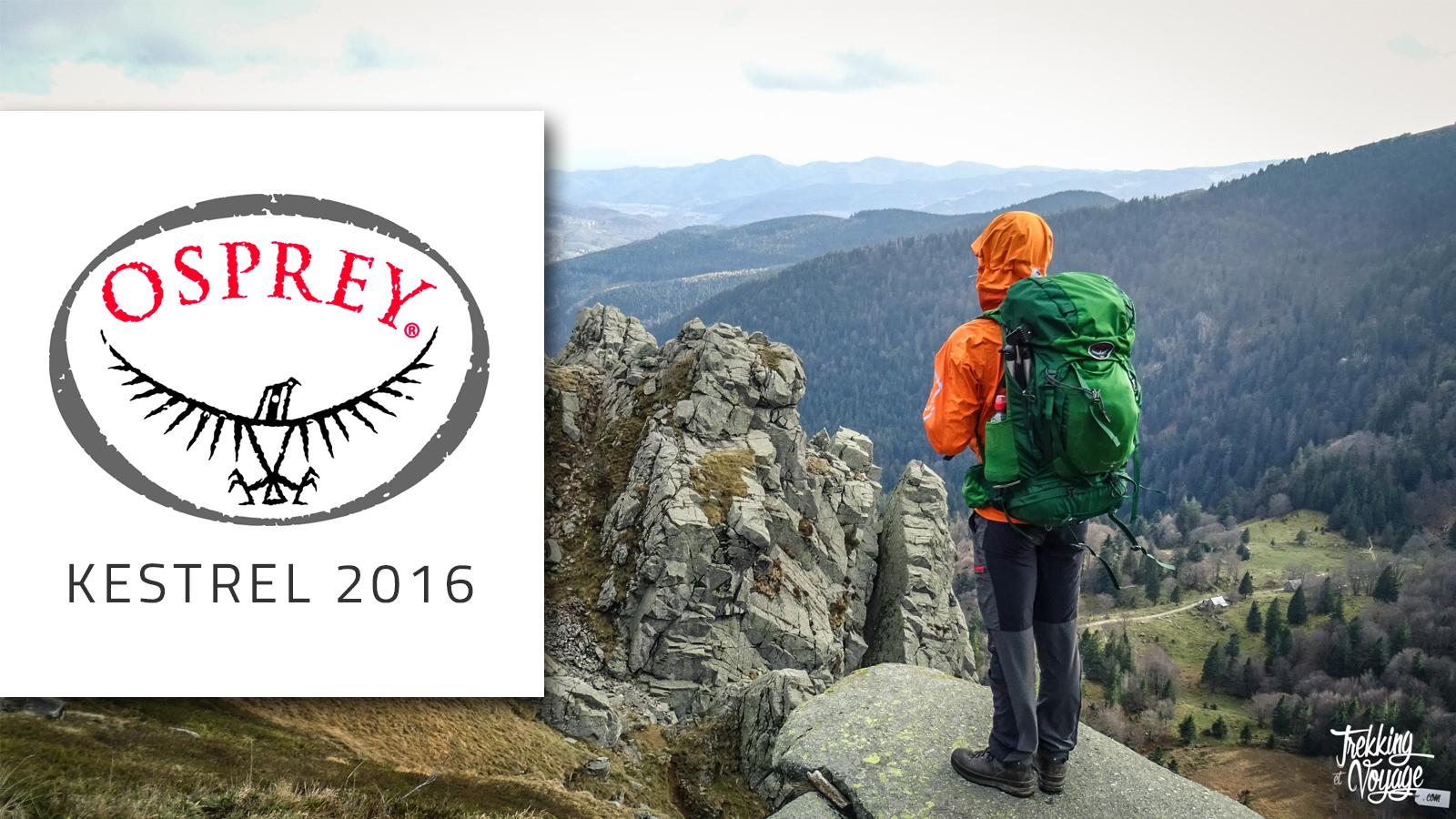 Test du sac à dos Osprey Kestrel 2016