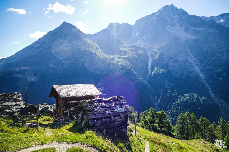 Val d'Hérens alpage montagne suisse