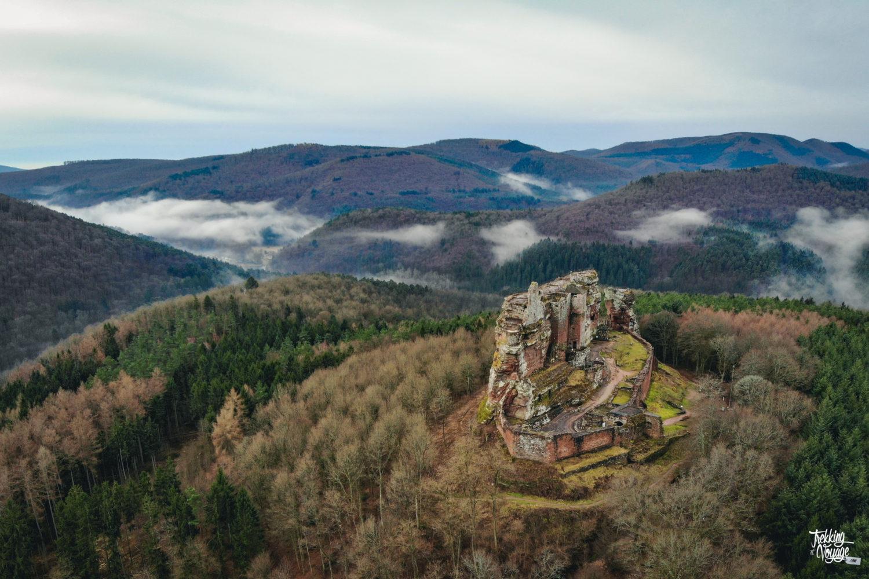 château fleckenstein vosges du nord