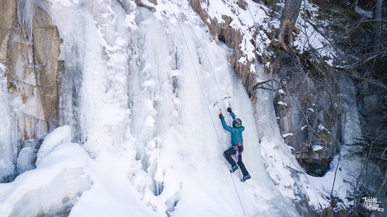 cascade de glace Orcières
