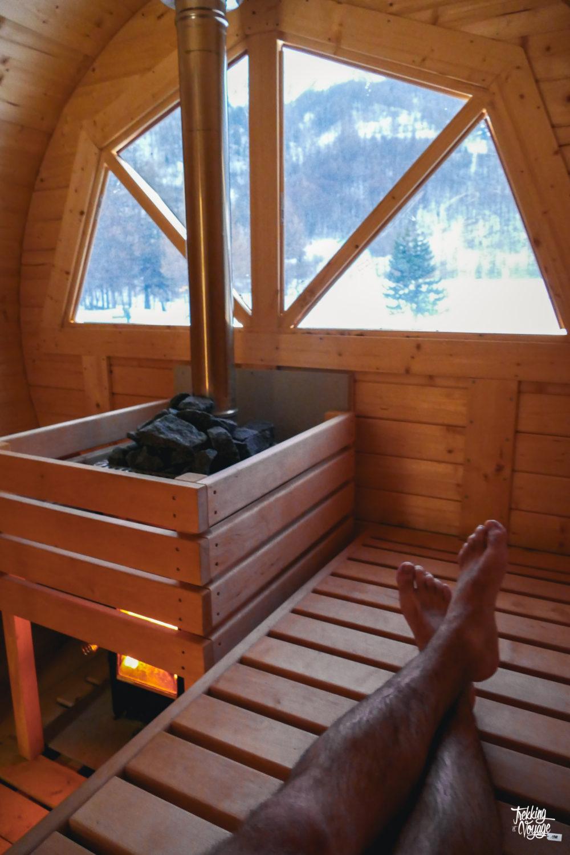 sauna orcières merlette