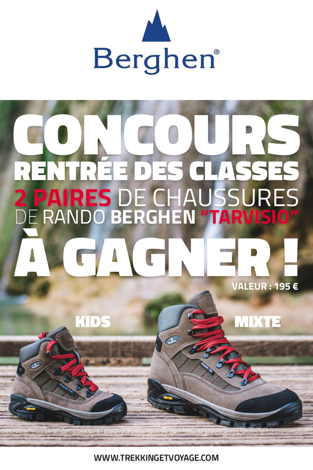 Concours chaussures Berghen