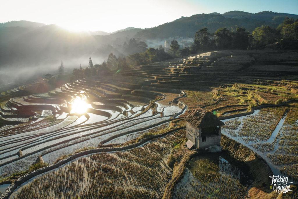 rizières en terrasse Yuanyang