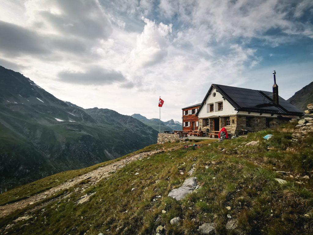 La cabane de Tourtemagne. Valais suisse.