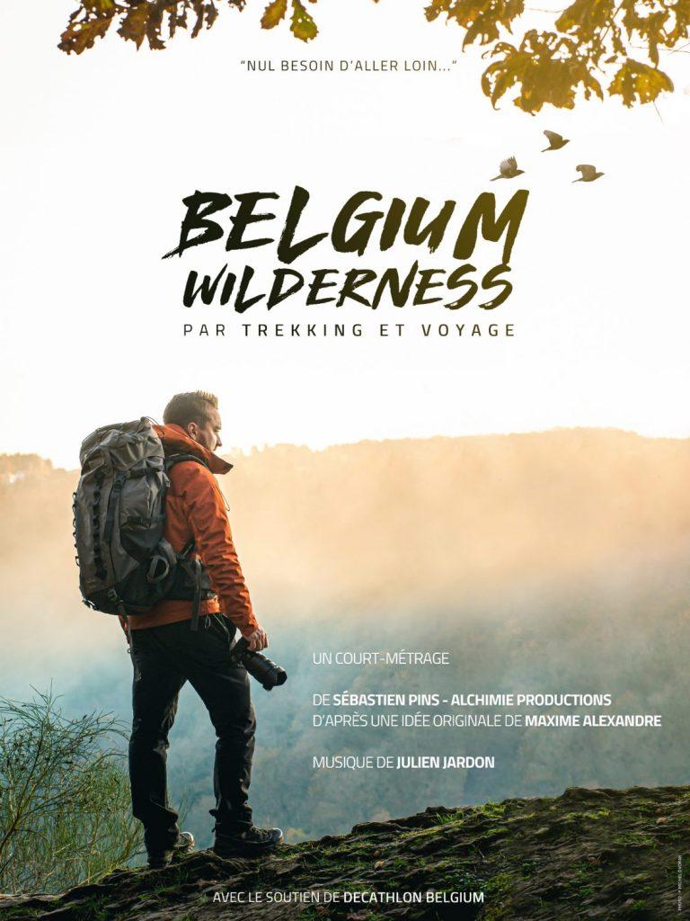 Belgium Wilderness, l'affiche du court métrage