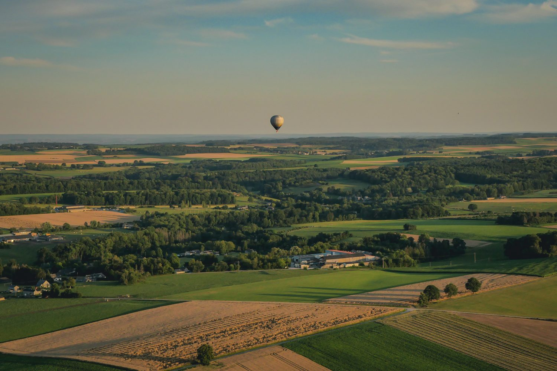 Mon vol en Montgolfière en Terres-de-Meuse